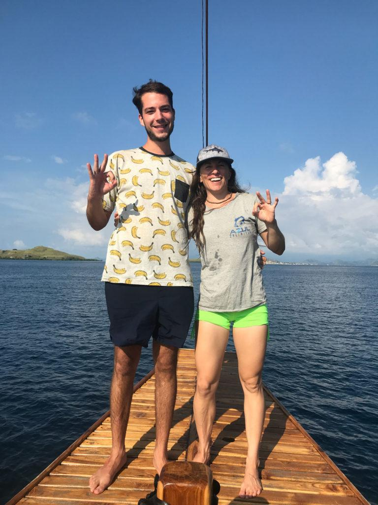 scuba diving in Komodo
