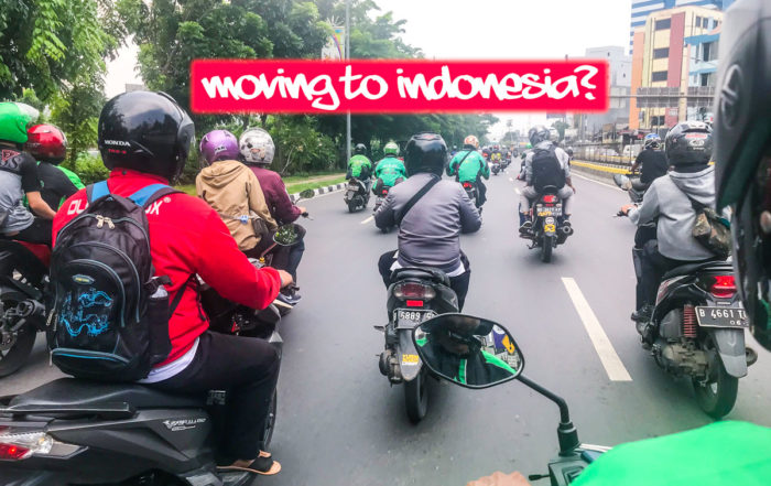 MOVING TO INDONESIA