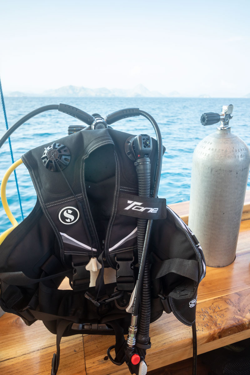 scuba gear maintenance