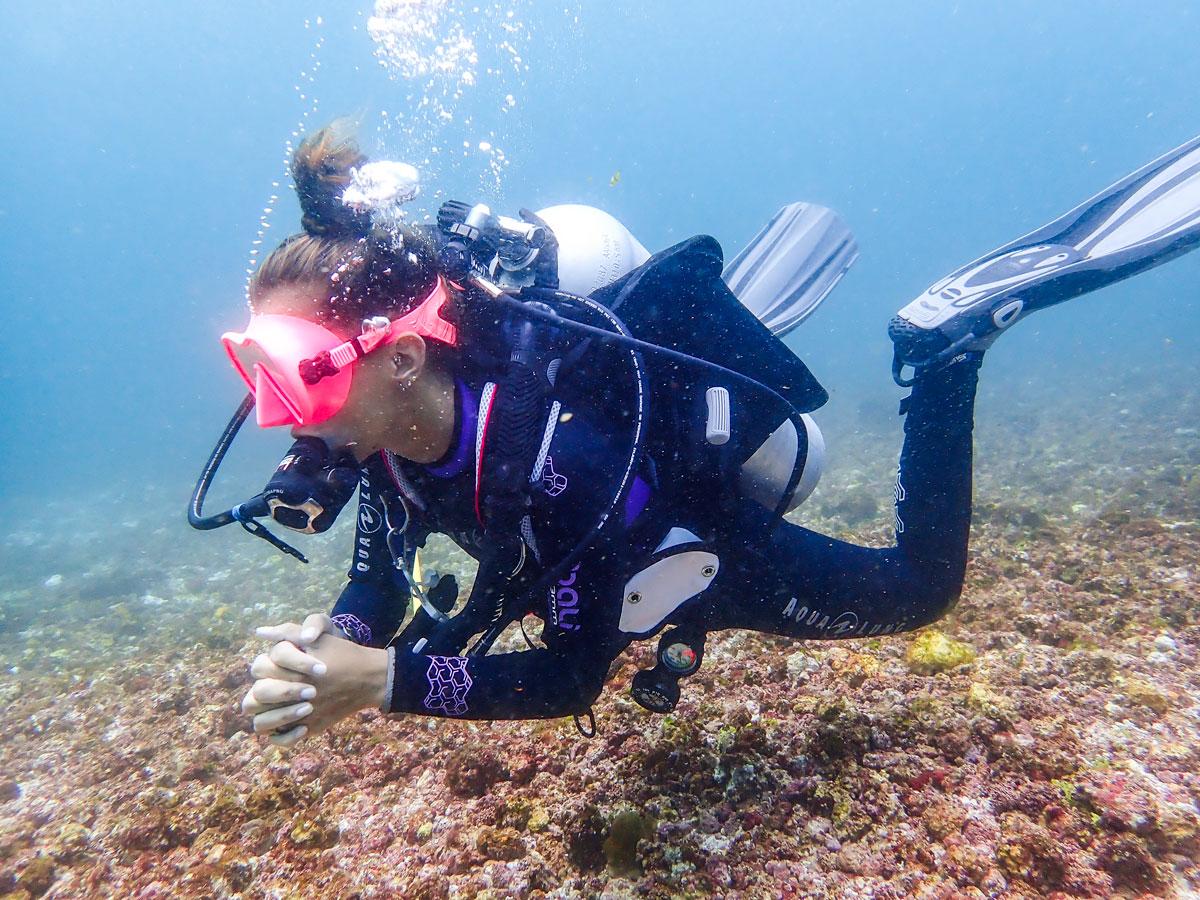 headache after diving