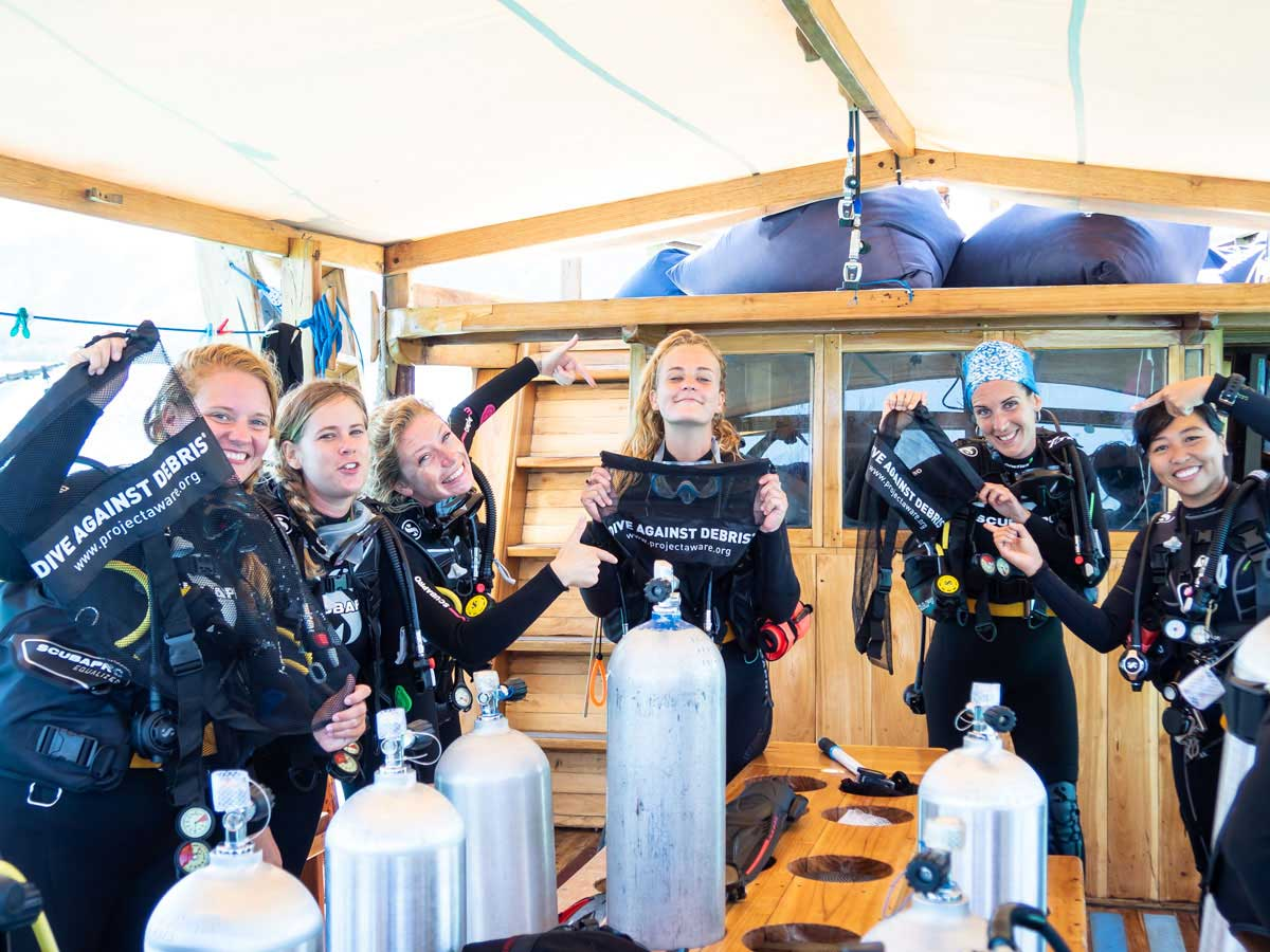 greenwashing scuba diving